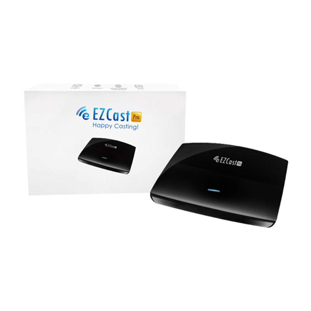 EZCast PRO Wireless Presentation LAN High Speed HDMI/VGA 1080P TV BOX Support AirPlay MiraCast WiFi Routers 4 Split Screens DLNA ezcast m2 wireles hdmi wifi display dongle adapter tv stick receive andriod miracast dlna support ios android windows