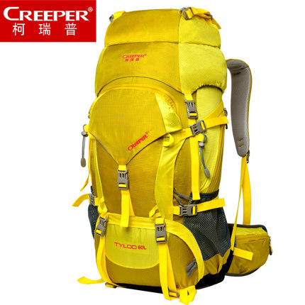 60L Professional Sport Bag, Outdoor Hiking Bagpack Mochila for Outdoor Camping, 33*20*70cm  1.5kg 70l professional outdoor sport bag mochila waterproof outdoor hiking bagpack with rain cover 80 27 38cm