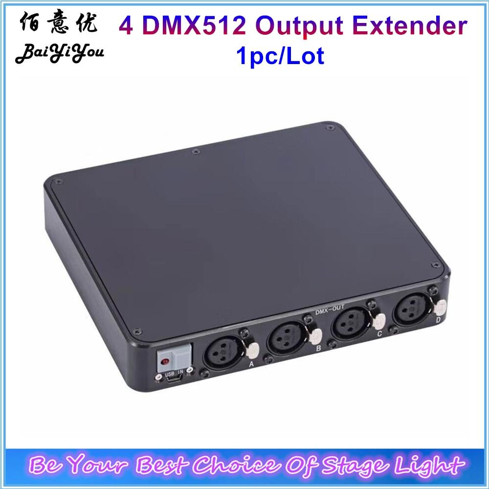 DMX Expandor 4 DMX 512 Output Extend 2048CH Mega DMX Extender Unit Run MA onPC Software