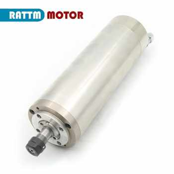 DE Free VAT 800W 0.8kw ER11 Waterproof spindle motor 4 bearing 220V Water-cooled spindle CNC high torque high precision