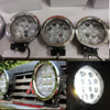 1P 60W Car Cree LED Work Light For Indicators Motorcycle Driving Offroad Boat Car Tractor Truck
