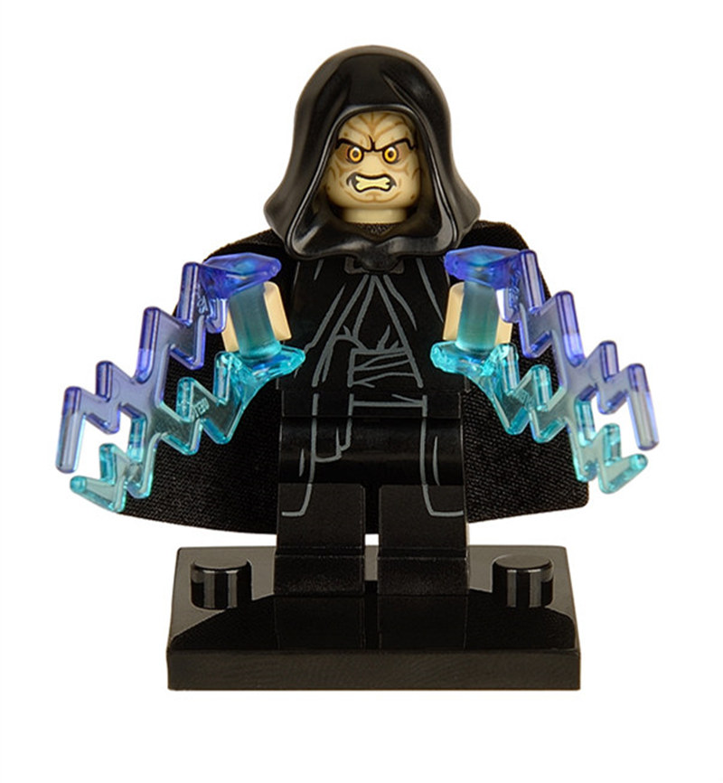 цены 50pcs/set Starwars Sheev Palpatine Darth Sidious Figure Star Wars Building Blocks Toys Compatible With Legoinglys Star Wars