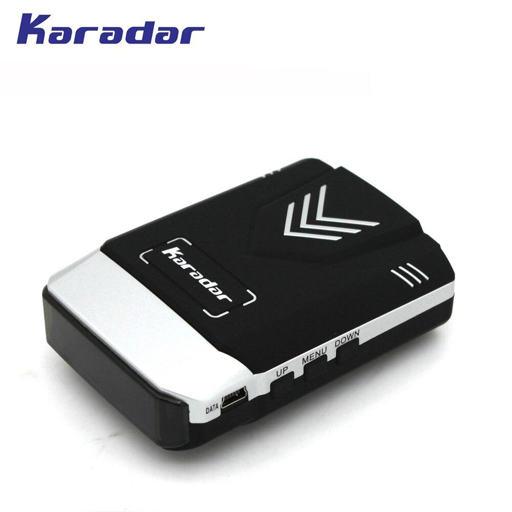 2019 KARADAR GPS combiné Radar détecteur Anti Radar voiture Radar détecteur GPS Laser Radar détecteur voix Strelka voiture-détecteur - 5