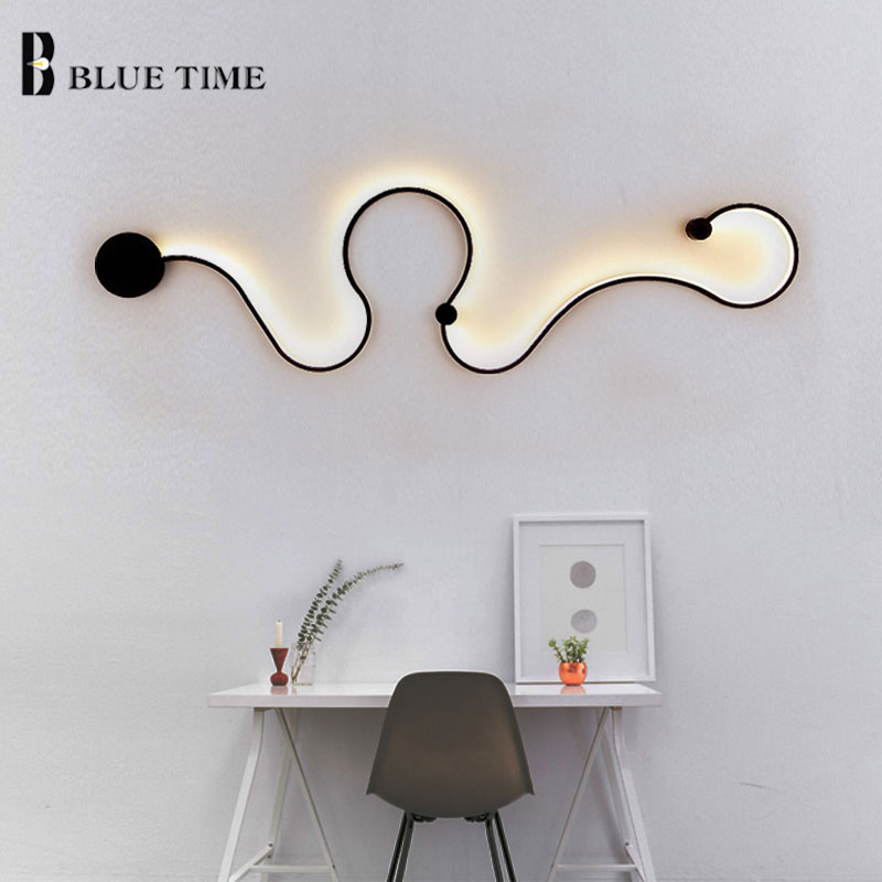Us 46 61 37 Off Modern Led Wall Light Home Living Room Bedroom Office Decoration Sconce Lamp Lighting Fixtures Bedside Kitchen In