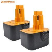 Powtree For Black&Decker Firestorm 12V 3000mAh PS130 Power tool battery Replaceable PS130A A9275 A9252 HP331 HP331K 2 HP331K2