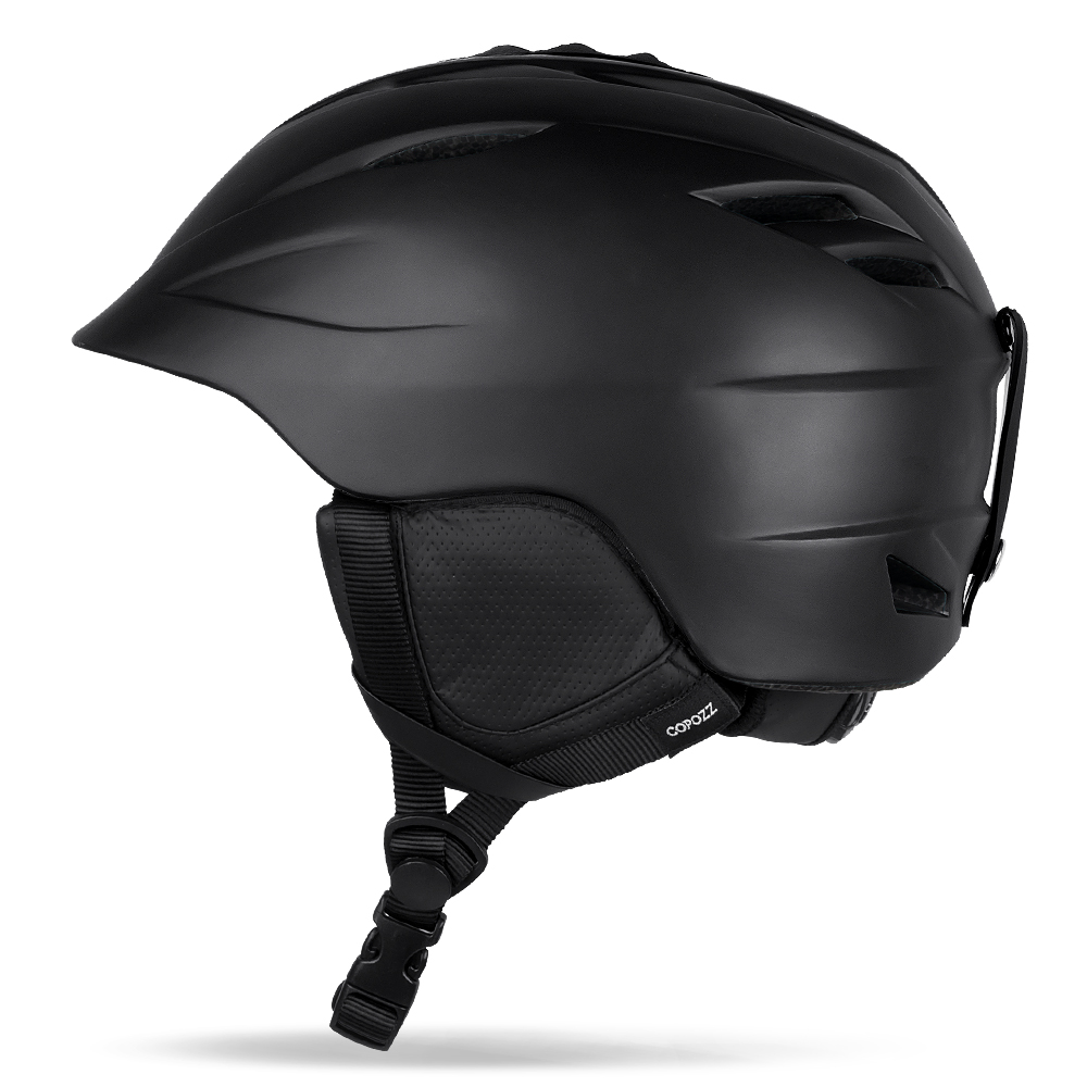 COPOZZ Ski helmet Safety Sport Integrally molded Breathable Snowboard men women Skateboard helmet Snow Multi Color Size 55 61cm