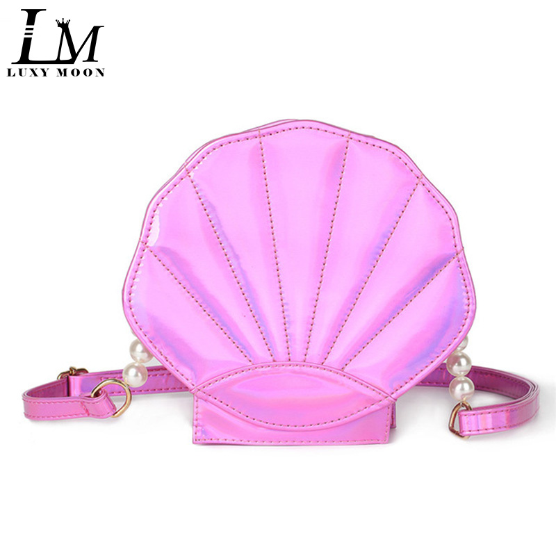 Linda bolsa de playa de cuero de la PU láser Lolita Mini Crossbody - Bolsos - foto 1