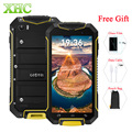 Geotel A1 Triple Pruebas Smartphone 8 GB + 1 GB WCDMA 3G Impermeable 4.5 pulgadas Android 7.0 MTK6580M de Quad Core 3400 mAh Teléfono Móvil