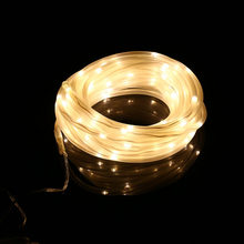 String Light Solar Power Decoration Lamp 100 LED Waterproof Copper Wire Fairy Valentines Wedding Party LED Light(China)