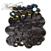 NEW STAR Wholesale 10 Pieces 10 34 Brazilian Body Wave Bundles Virgin Human Hair Extension Cuticle Aligned Weave Salon Supply