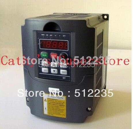 Variateur de fréquence variateur VFD onduleur 5.5KW 220 V 5.5kw CNC