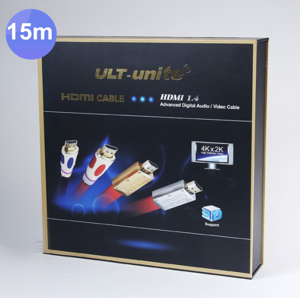 1pcs /lots High-end flat Type Red 15M 50FT HDMI with Packaging Ethernet HDMI Male to Male Cable 1.4 V 3D 1080P 4K*2K HDMI Cable samzhe hdmi to hdmi cable flat hdmi2 0 cable male to male 4k 2k 18gbps supports ethernet 3d 4k video for hdtv ps3 4