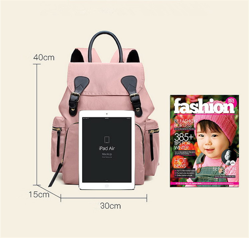 Maternal and Child Travel Backpack Portable Mobile Fashion Mother Bag New Korean Version Mummy Bag Multi-Function Large CapacityMaternal and Child Travel Backpac018