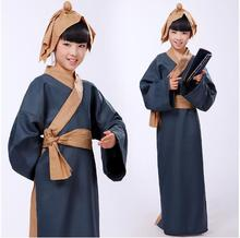 (0175) Ancient Chinese classic Literature Search disciple costumes Hanfu nunnery hildren ancient students cosplay costume le disciple