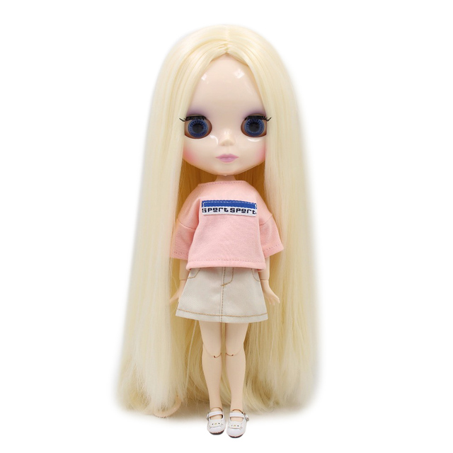 ICY Neo Blythe Doll Blonde Hair Regular and Jointed Body Options