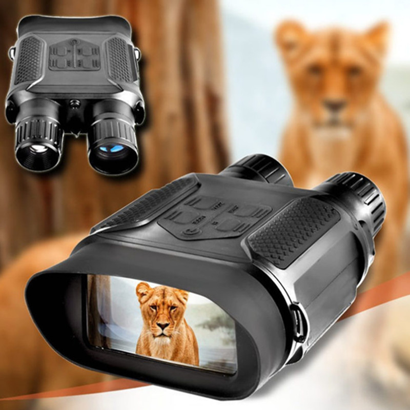 400M 7X31 Range IR Night Vision Goggles Night Hunting NV Binoculars with Video and Picture NV Riflescope for Hunter