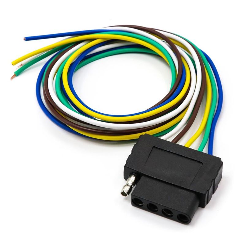car suv trailer 36 5pin wiring harness connector adaptor signal rh aliexpress com