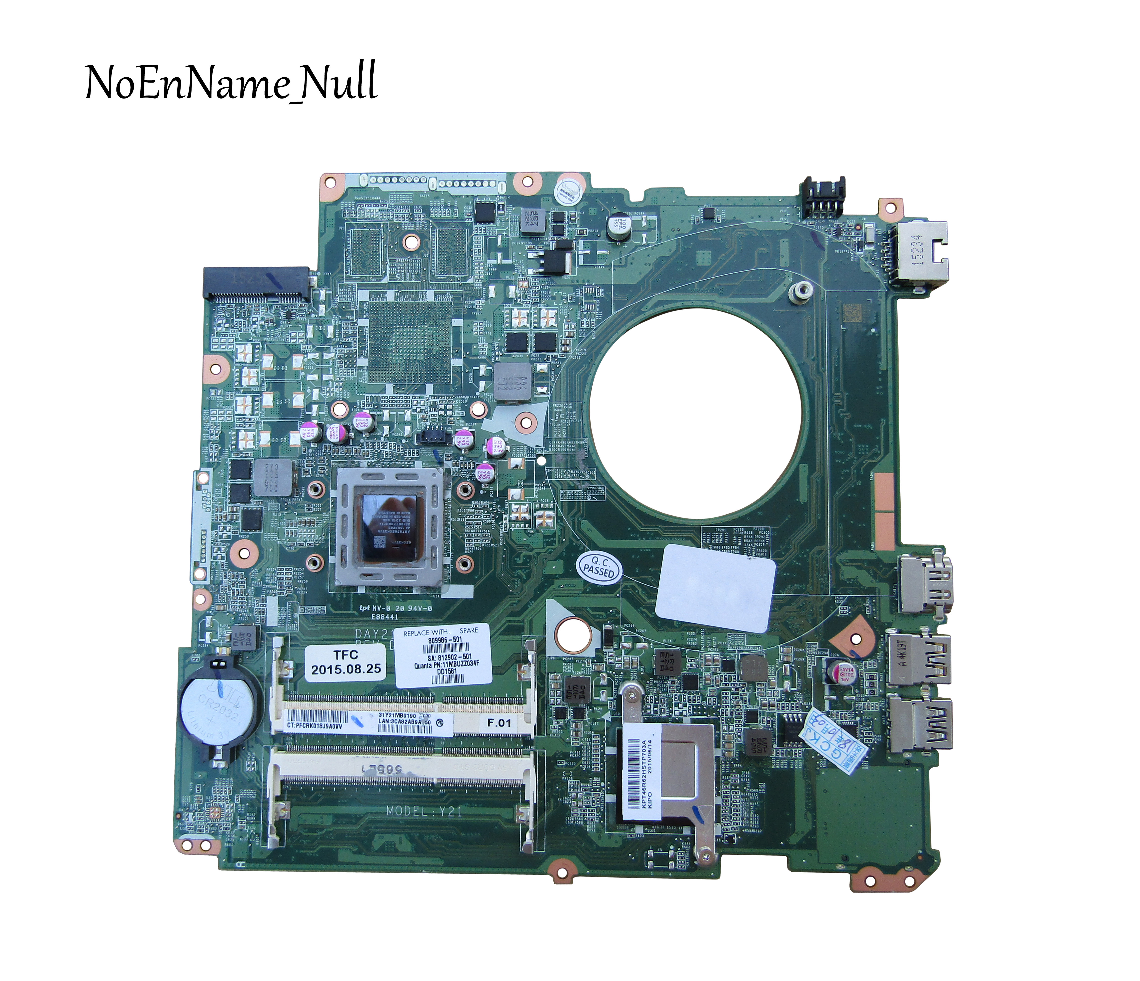 809986-601 809986-501 809986-001 Laptop Motherboard For HP Pavilion 17-P 17Z-P DAY21AMB6D0 A8-7050M CPU DDR3 100% Tested