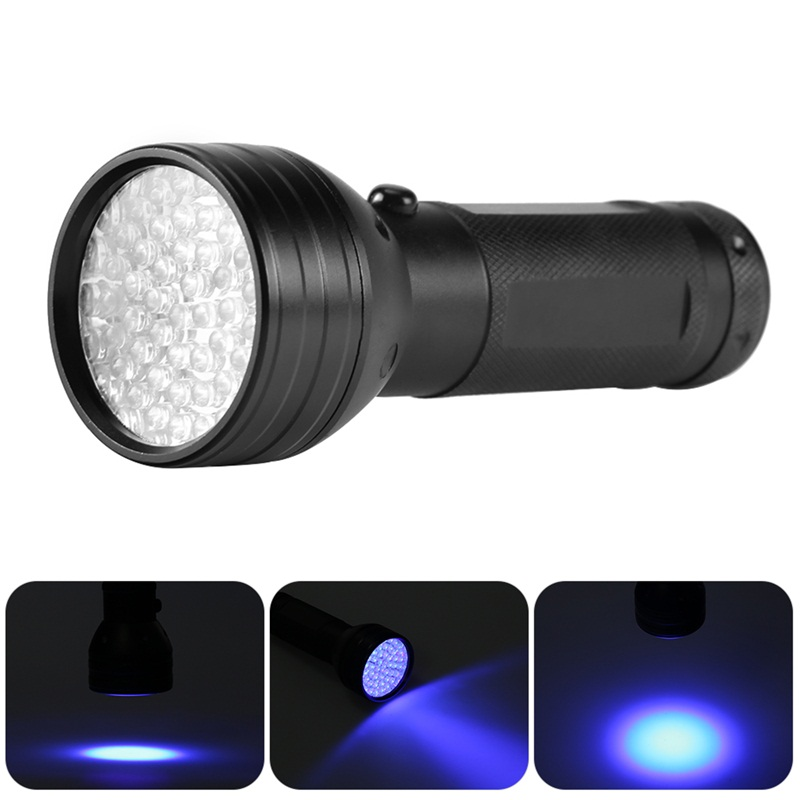 Bright 1 X 51 Leds Ultra Violet Torch Light Lamp Uv Led Flashlight Blacklight Detector For Dog Urine Pet Stains And Bed Bug Grade Products According To Quality Led Lighting