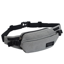 купить Wholesale Women Shoulder Waist Pack Bag New Men Casual Fanny Bag Pouch Travel Hip Bum Bag Nylon Waterproof Belt Bag 7 Colors дешево
