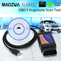 ELM327 OBD2 V1.5 Auto Diagnostische OBD 2 ELM 327 Scanner USB Voor Android/IOS/Windows