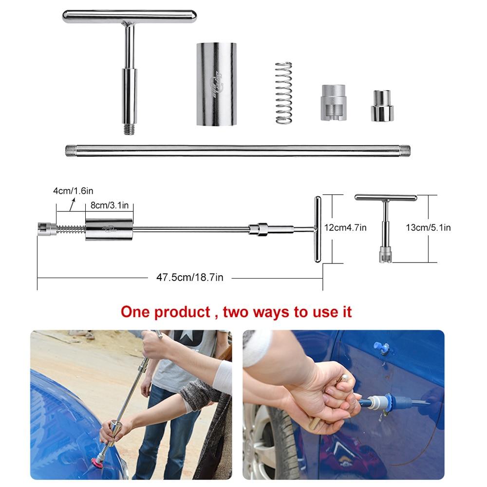 PDR Tools Remove Dent Car Body Paintless Dent Repair Tool Set LED - Juegos de herramientas - foto 2