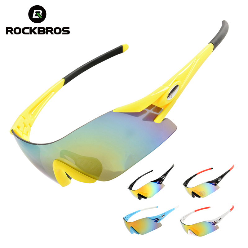 ROCKBROS Cycling Eyewear Sunglasses Mountain Road Bike Cycling Glasses Outdoor Sports Windproof Bike Goggles Bicycle Equipment