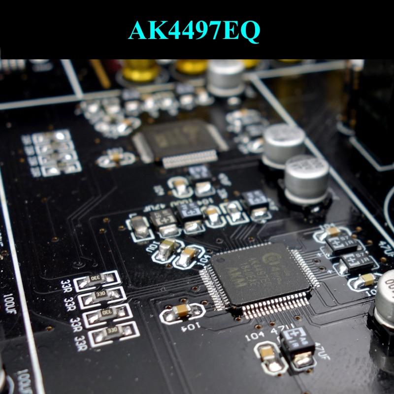Lusya CSR8675 Bluetooth 5 0 APTX-HD Dual AK4497 XMOS DAC decoder amplifier  coaxial optical USB DSD256 T0494