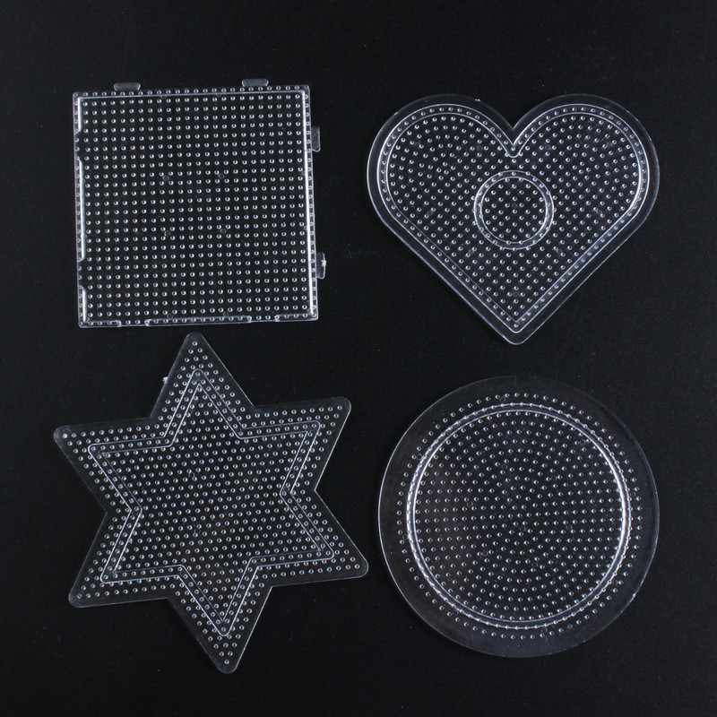 2.6mm Pegboard For Hama Bead Template Children 3D Puzzle Perler Beads Brinquedo Educational Toys Jigsaw Puzzle Fuse Beads