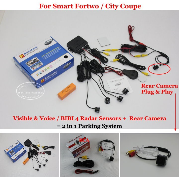 Smart Fortwo City Coupe parking system