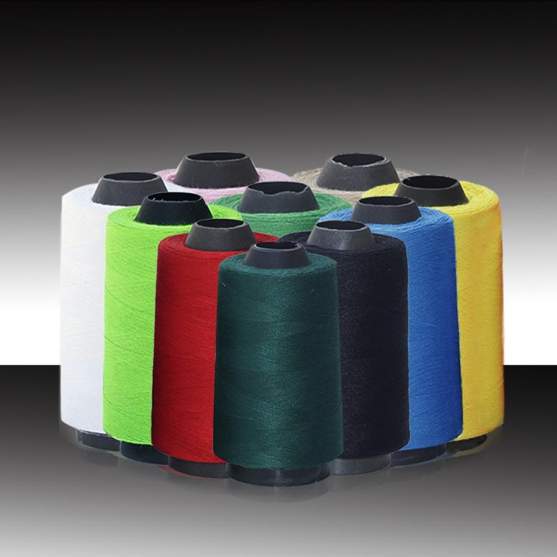 1pc Spool Multicolor Sewing Thread 3000Y Industrial Sewing Thread 40S 2 Threads Sewing Machine Accessories 15 in Sewing Threads from Home Garden
