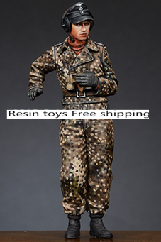 pre order-Resin toys 35188 WSS Panzer Commander #2 Free shipping 1 35 wss panzer commander set
