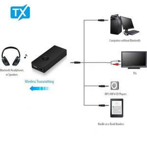 Image 2 - kebidu Bluetooth Transmitter Wireless Bluetooth Audio Transmitter RCA 3.5mm Adapter for TV Headphone PC Laptop Tablet MP3 MP4