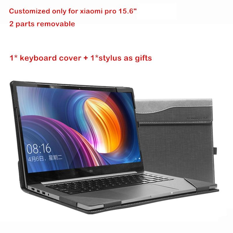 Custo mi zed couverture pour Xiao mi Notebook Pro 15.6 Air mi livre ordinateur portable étui Design créatif écran Film clavier couverture stylet cadeau - 2