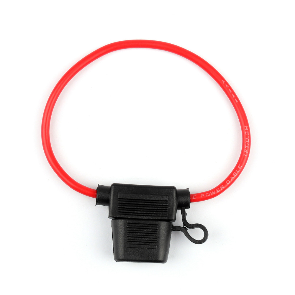 Areyourshop Mini Blade Fuse Holder Waterproof 12AWG In-Line Wire Cable For Car/Boat 1/2/4/8PCS Newest Fuses Cable samyang mf 14mm t3 1 ed as if umc ii vdslr ii canon ef