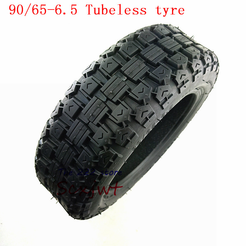 90/65-6.5 Scooter Vacuum Tyre For Xiaomi Ninebot Pro Mini Speedway Ultra 11 inch Off-Road Tubeless Tire Scooter Tyre image