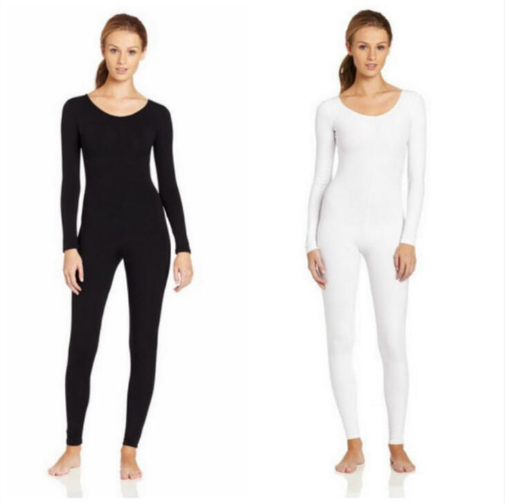 High quality Spandex Zentai Full Body Skin Tight Jumpsuit Unisex Zentai Suit Bodysuit Costume for Women Unitard Lycra Dancewear
