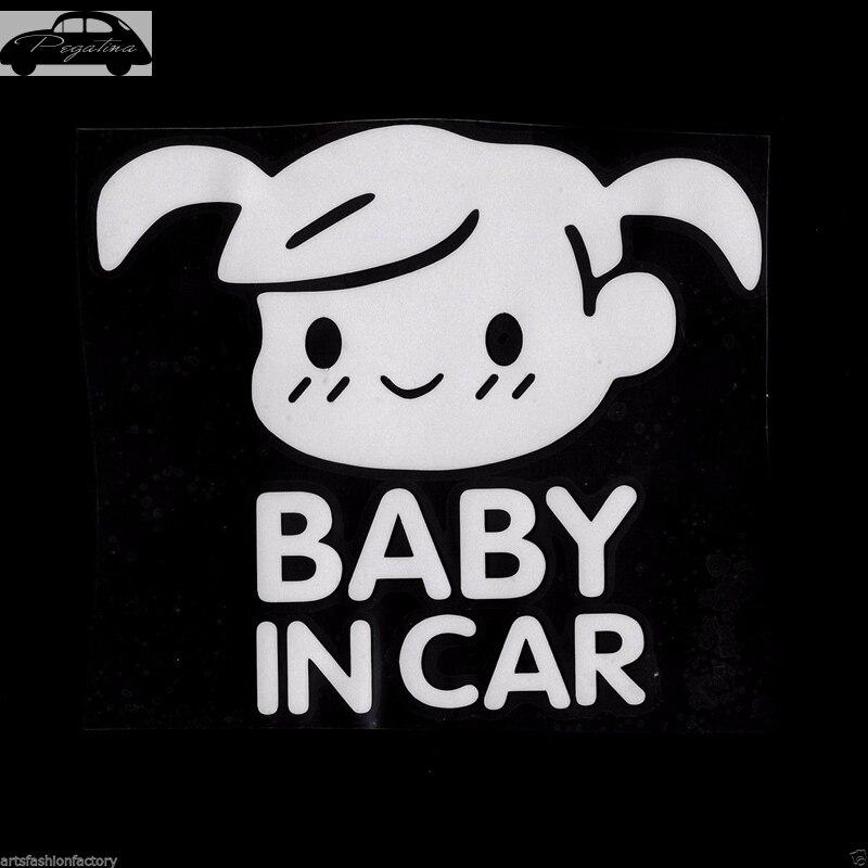 Pegatina гриль ребенок в машине размахивая ребенок на борту знак безопасности с симпатичными машинками Наклейка виниловая Стикеры