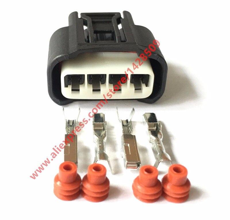 50/100Sets 4 Pin Ignition Coil Plug 7283-7449-30 11885 Auto Connector For Toyota Carola Vios Corolla Camry Highlander RAV4