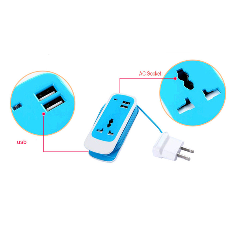 Go2linK 3 in1 For Iphone7 Iphone 7 6s 6 Plus/Xiaomi Redmi 3s 3 S Mi 5s Phone Usb Hub Charger 5V 3A Eu Plug Wall Travel