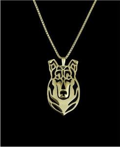 Drop shipping-Smooth Collie Necklace