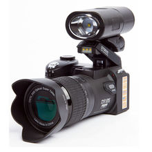 POLO D7200 Digitalkamera 33MP Autofokus Professionelle SLR HD Video Kamera 24X + Teleobjektiv Weitwinkel Objektiv LED Füllen licht