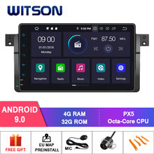 "WITSON 9 ""Android 9,0 para BMW E46 X3 Z3 Z4 coche DVD RADIO 4 GB RAM + 32 GB FLASH 8 Octa Core estéreo + 1024X600 + HD + DVR/WIFI + DSP + DAB(China)"