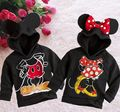 New Fashion Cute Kids Girls Boys  Hooded Jacket Sweater Coat 1-6Y