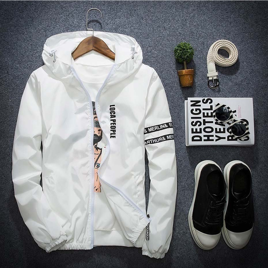81931f066 US $22.13 46% OFF|Zogaa Men hoodies Spring Summer Autumn Jacket Outdoor  Sportswear Hooded Coat Thin casual Blazer Jacket solid zipper mens hoodie  -in ...