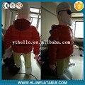 2 m customizable giant walking inflatable old man character figure cartoon mascot costume