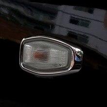 2 шт., хромированные бокосветильник лампы для Hyundai Tucson 2006 2007 2008 2009