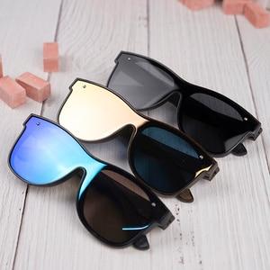Image 4 - BOBO BIRD Sunglasses Men Brand Luxury Square Polarized Wood Sun Glasses Driving Eyewear UV400 Oculos De Sol Gafas