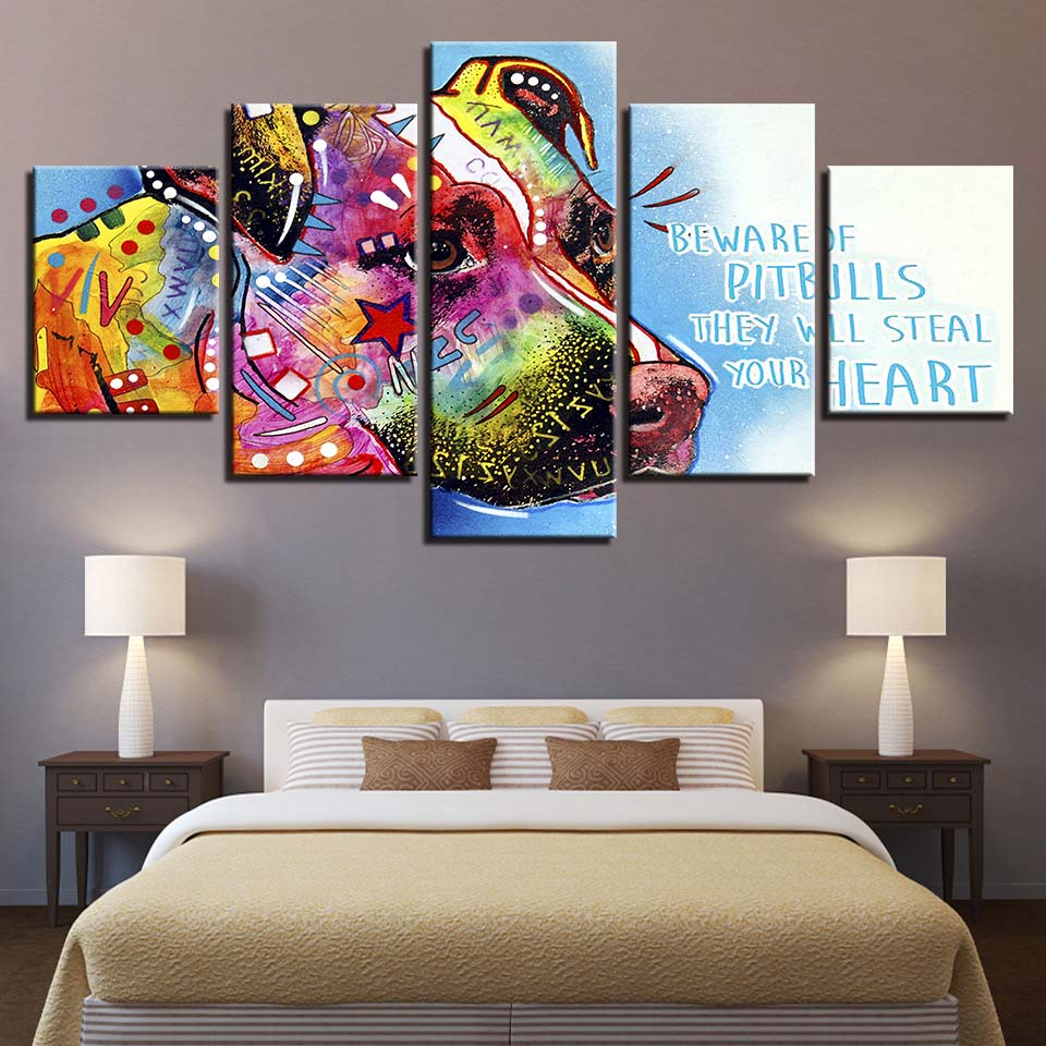 Wall Art Canvas Painting Hd Prints Home Decor 5 Pieces