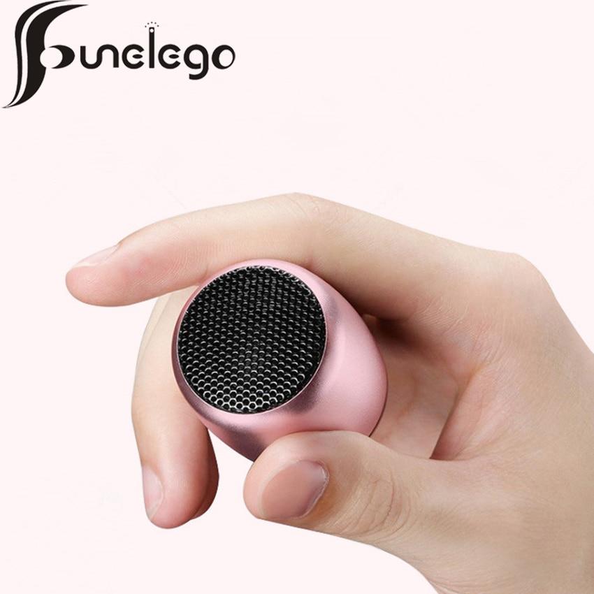 Funelego New Supre MINI Portable Bluetooth Speaker Outdoor Sport Wireless Sound Metal H6 MIC Call Remote Camera Loudspeakers